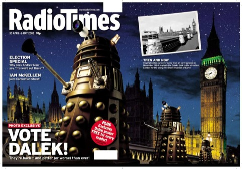 30.04.05 Vote Dalek edition