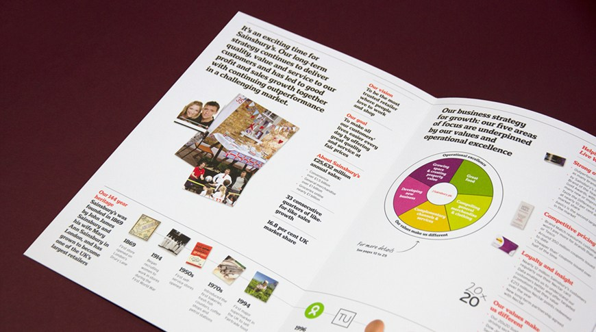 Sainsbury's 2013 Annual Report by SAS