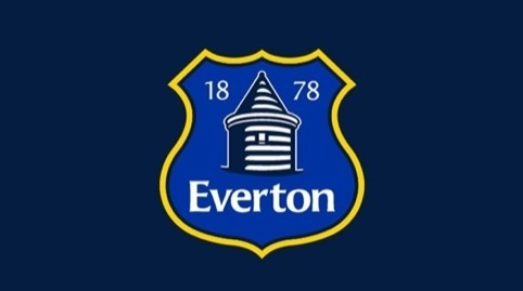 Everton's redesigned club crest, which was designed in-house and will be dropped at the end of the season