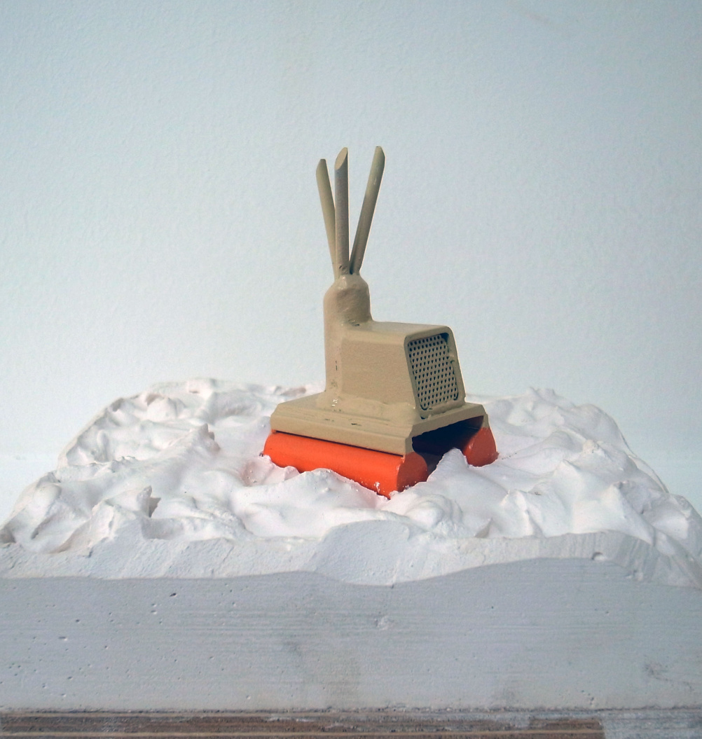 Maquette for Verity by James Capper © James Capper and Damian Griffiths courtesy Hannah Barry Gallery