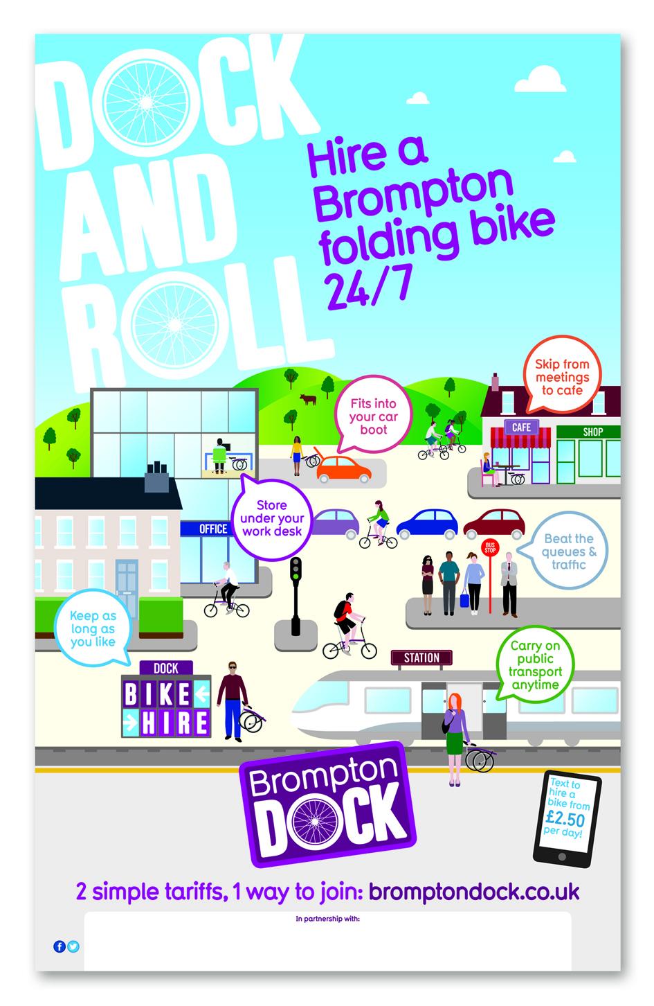 Brompton Dock poster