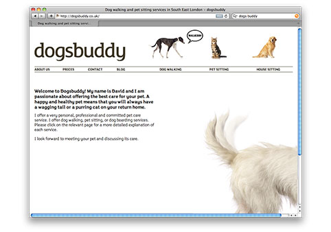 Dogsbuddy website