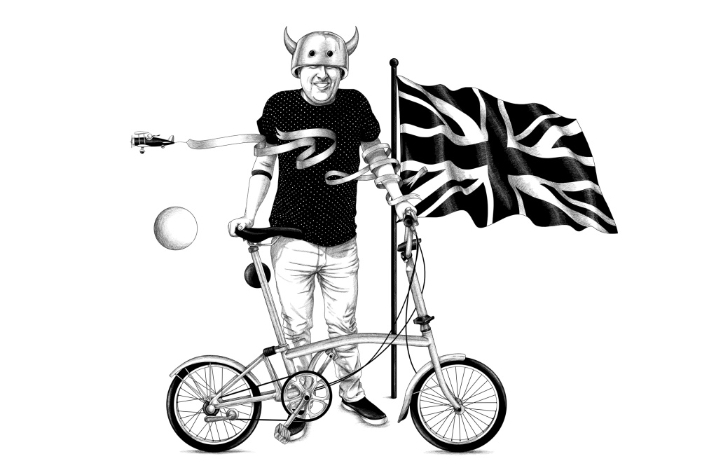 Folding Bike in Style, by Ugo Gattoni