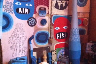 Elements-based shed doodlings