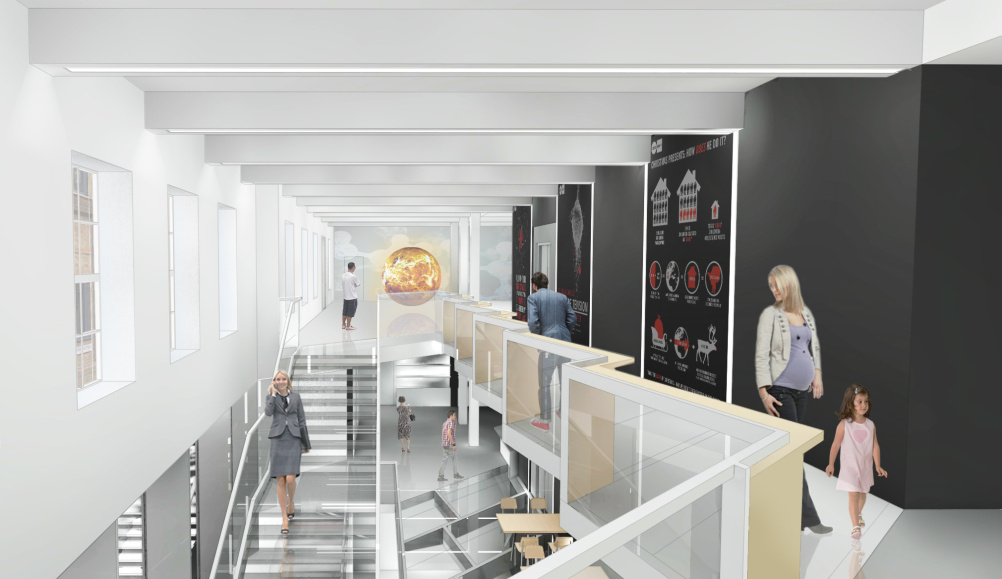 Science Gallery internal render