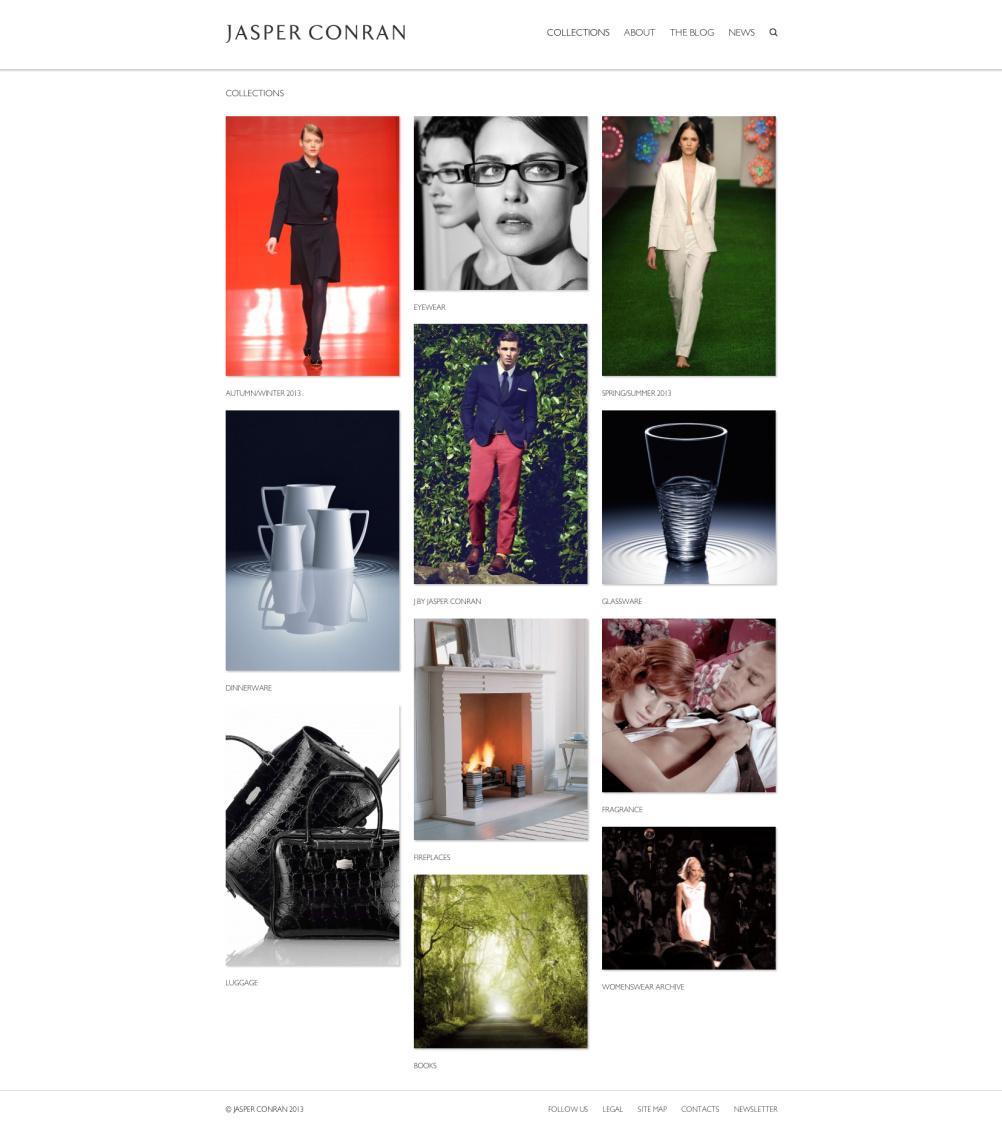 Jasper Conran collections