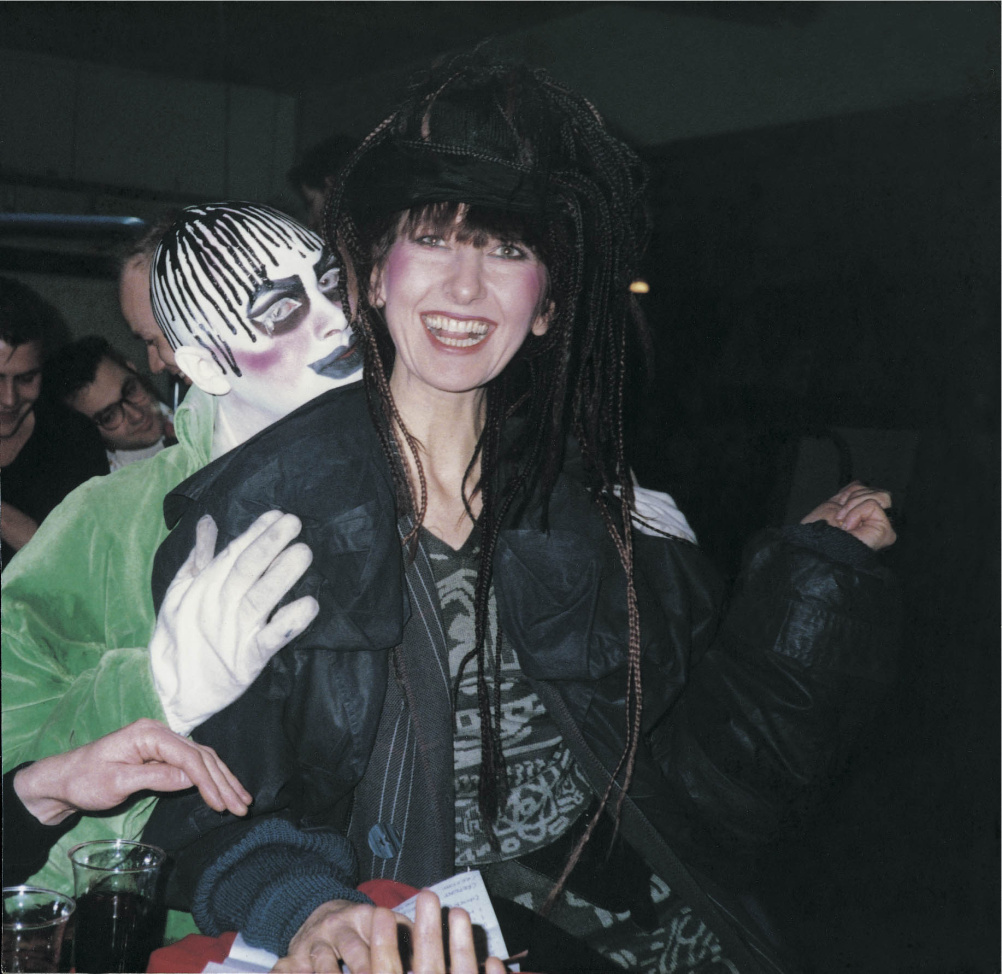 Leigh Bowery and Gerlinde Costiff at Taboo, London  1985