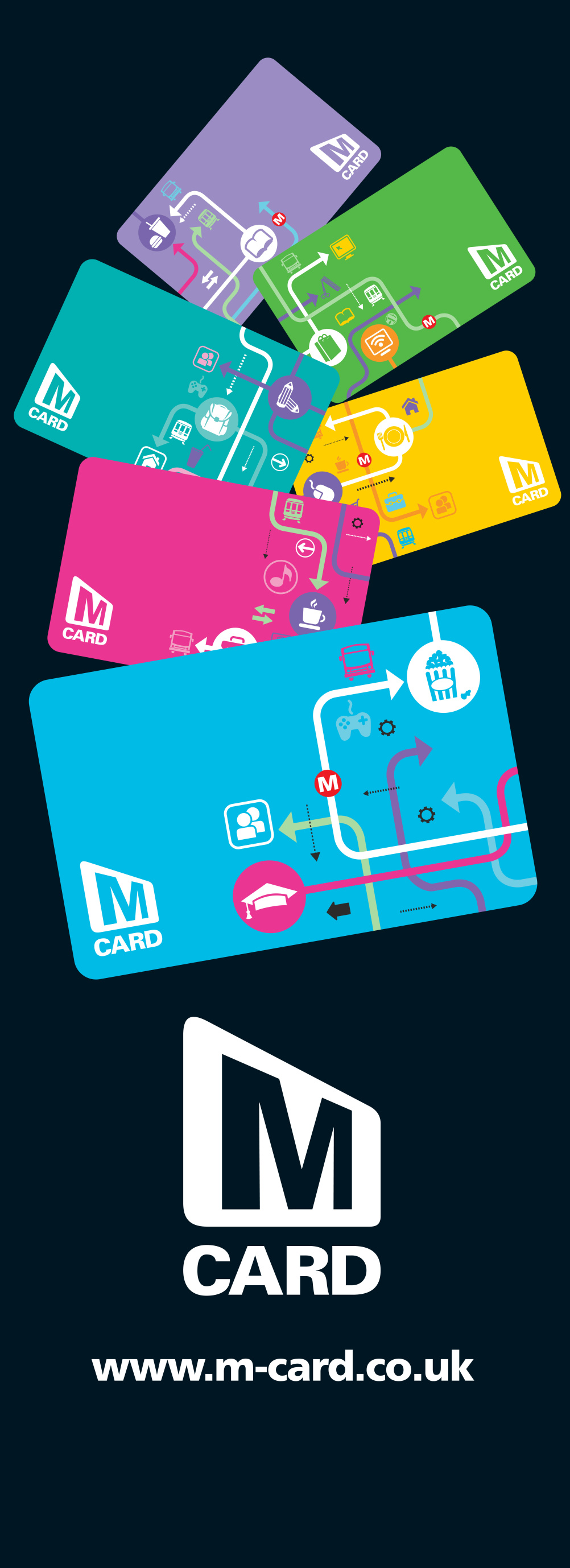 The range of MCards