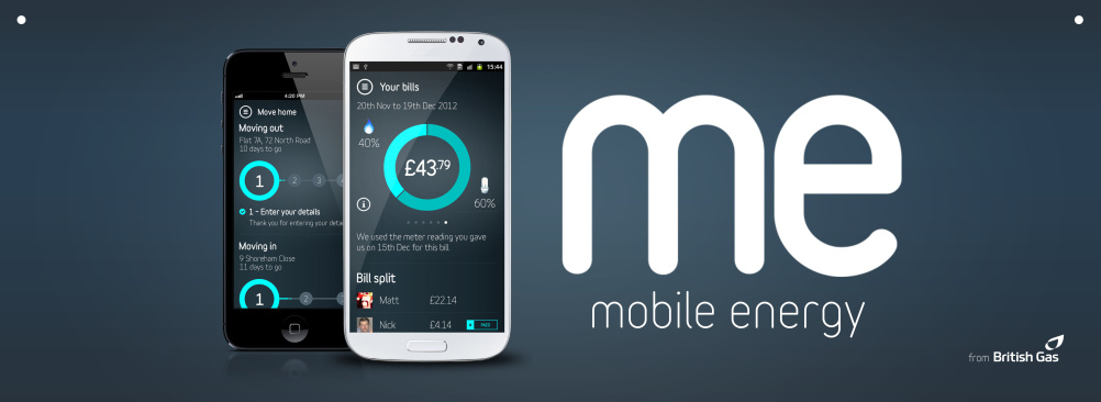 Me mobile energy app
