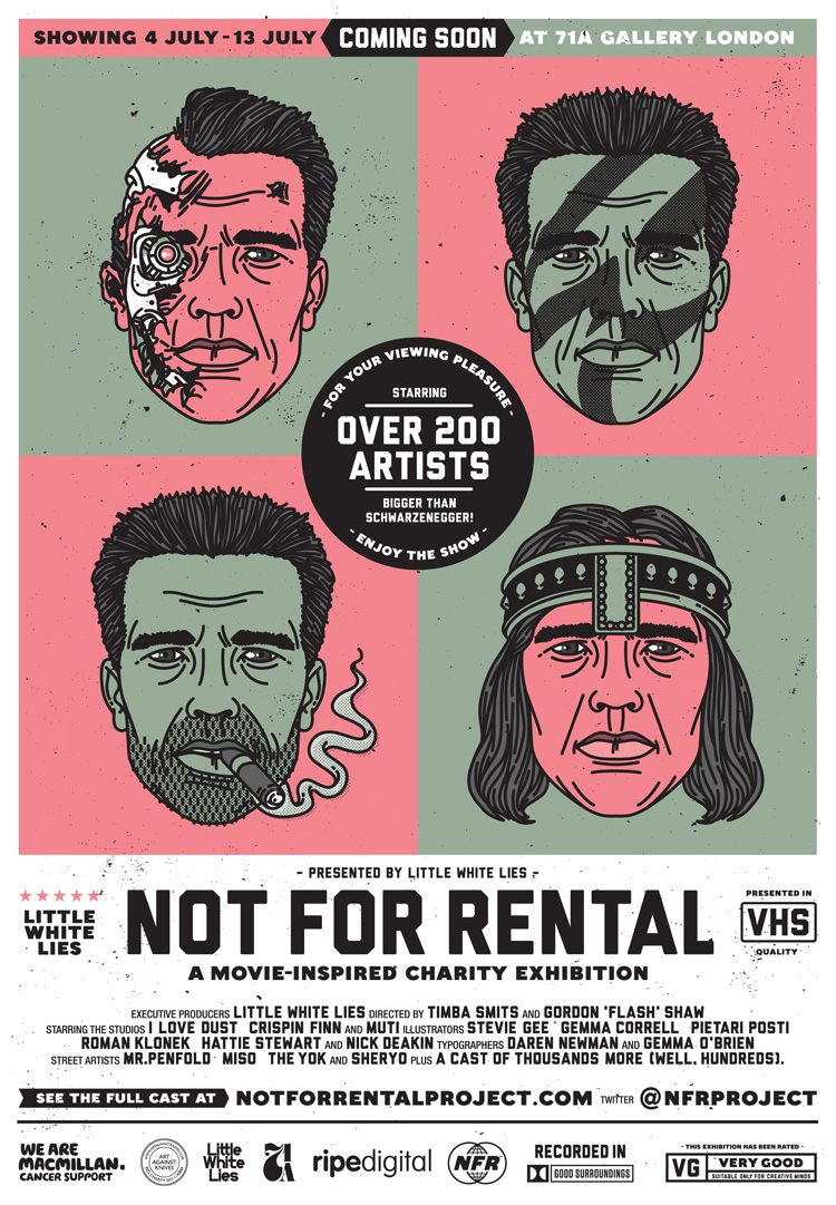 Not For Rental flyer