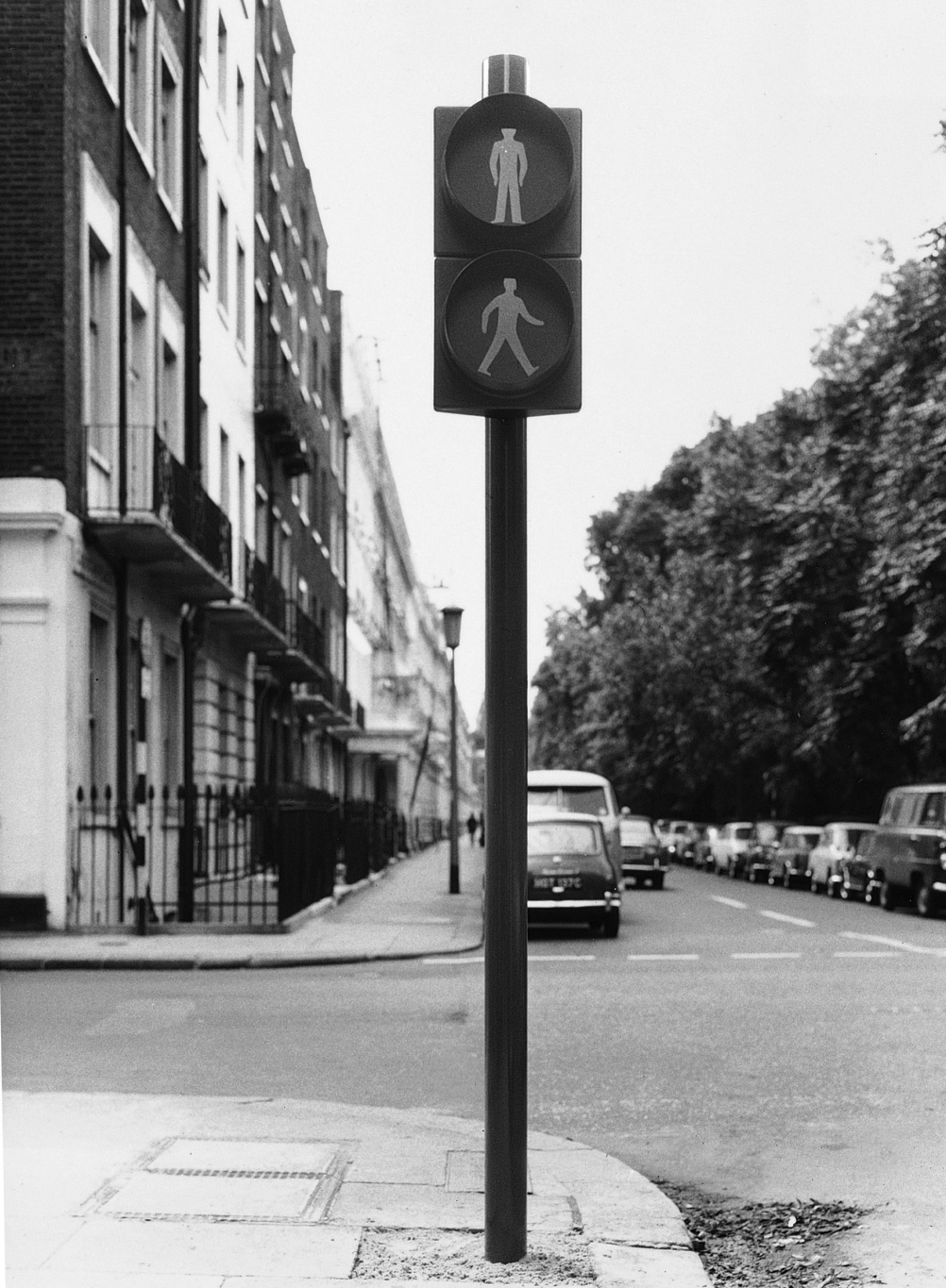 Traffic Light Prototype 1965