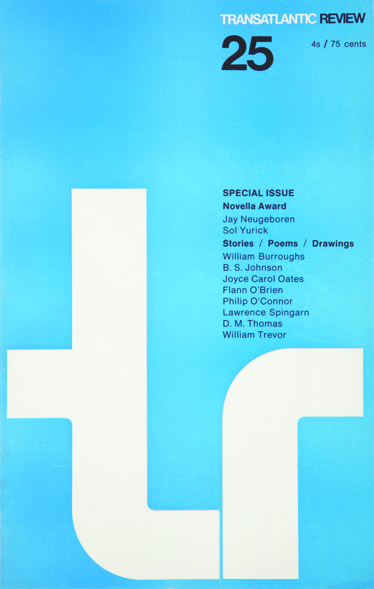 Transatlantic Review, Issue 25, 1967