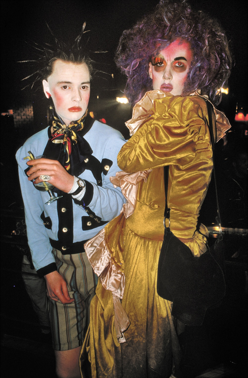 Trojan and Mark at Taboo 1986