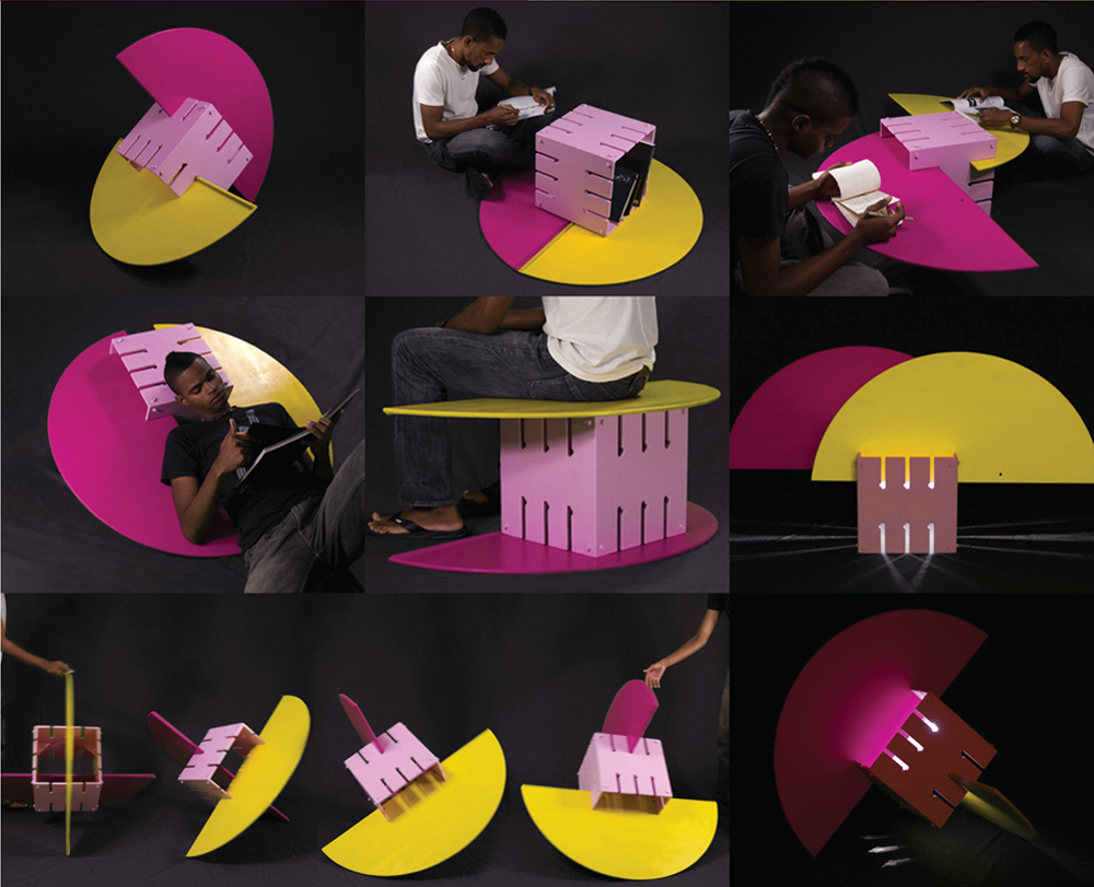 Verb multifunctional sculpture/furniture