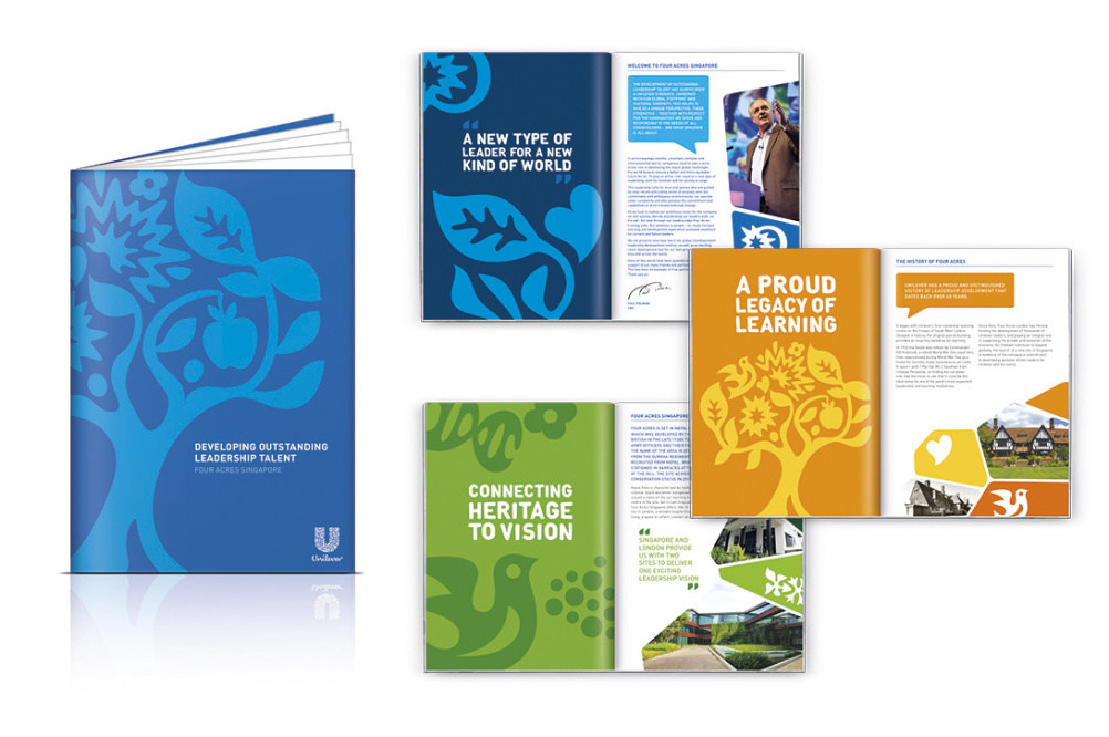 Unilever's Four Acres brochure by JKR