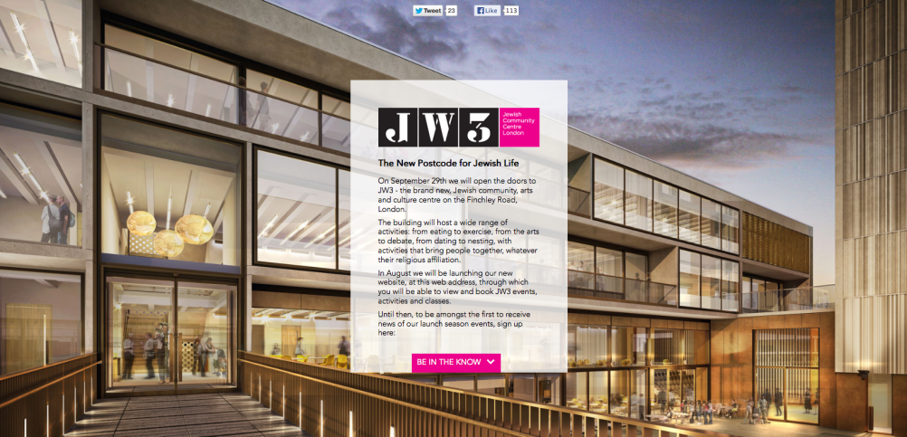 The JW3 building