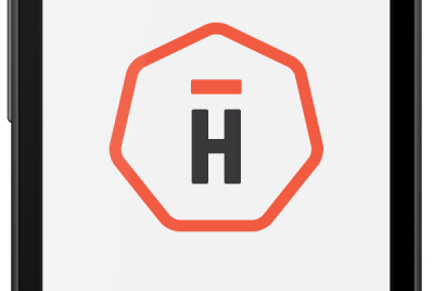 The Hightail 'H' on Android app