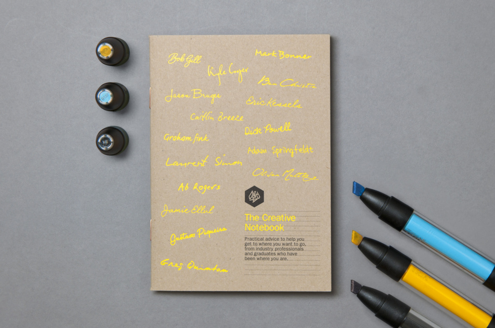 The Creative Notebook for D&AD by Alphabetical