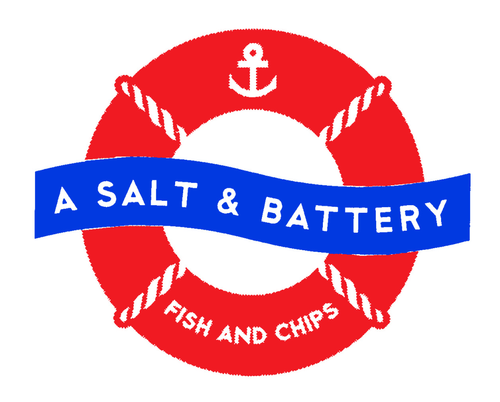 A Salt and Battery fish and chips
