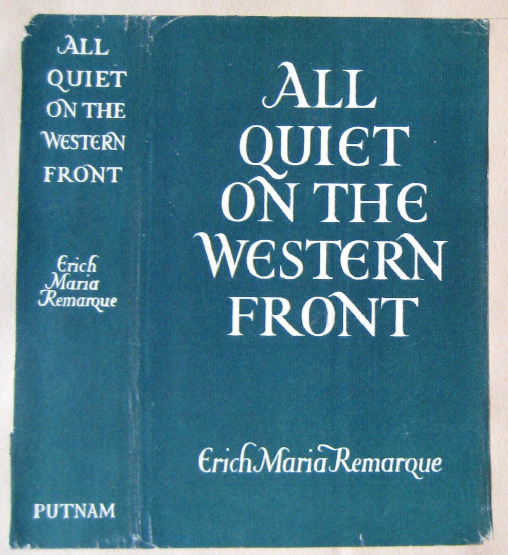 All Quiet on the Western Front 1st English translation (1929)