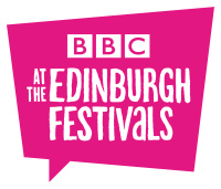 BBC Edinburgh Festivals Pink Square On White
