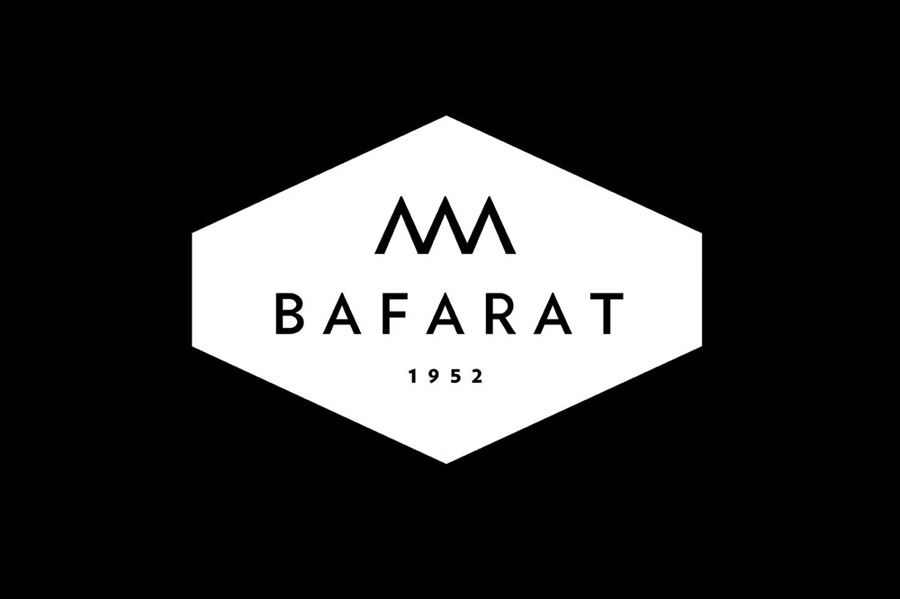Bafarat logo black and white.