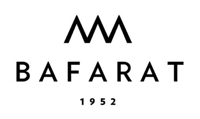 Bafarat logo on white.