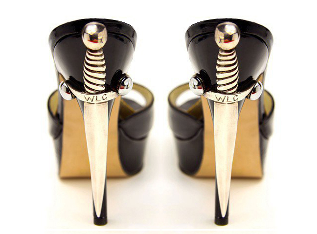 Dagger Heels by Terry de Havilland (c.2011)
