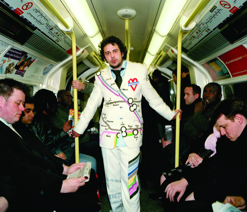 David Samuel tube suit.