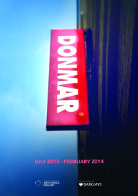 Donmar Season Brochure Cover