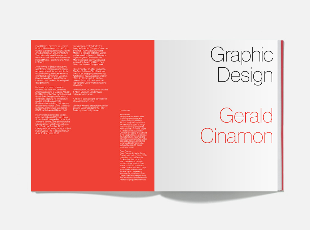 Gerald Cinamon book inside cover.
