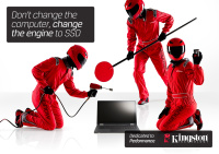 Kingston Dedicated to Performance campaign