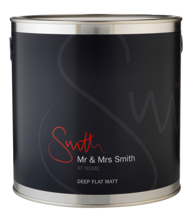 Mr and Mrs Smith At Home paint.