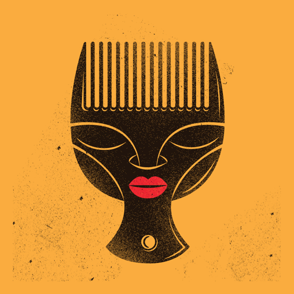 Logo for the Natural Hair Appreciation Society