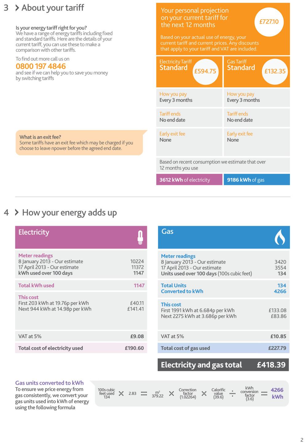 Lippincott redesigns Npower energy bills | Design Week
