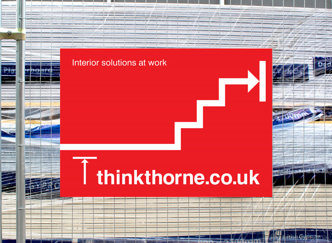 Think Thorne promotional materials