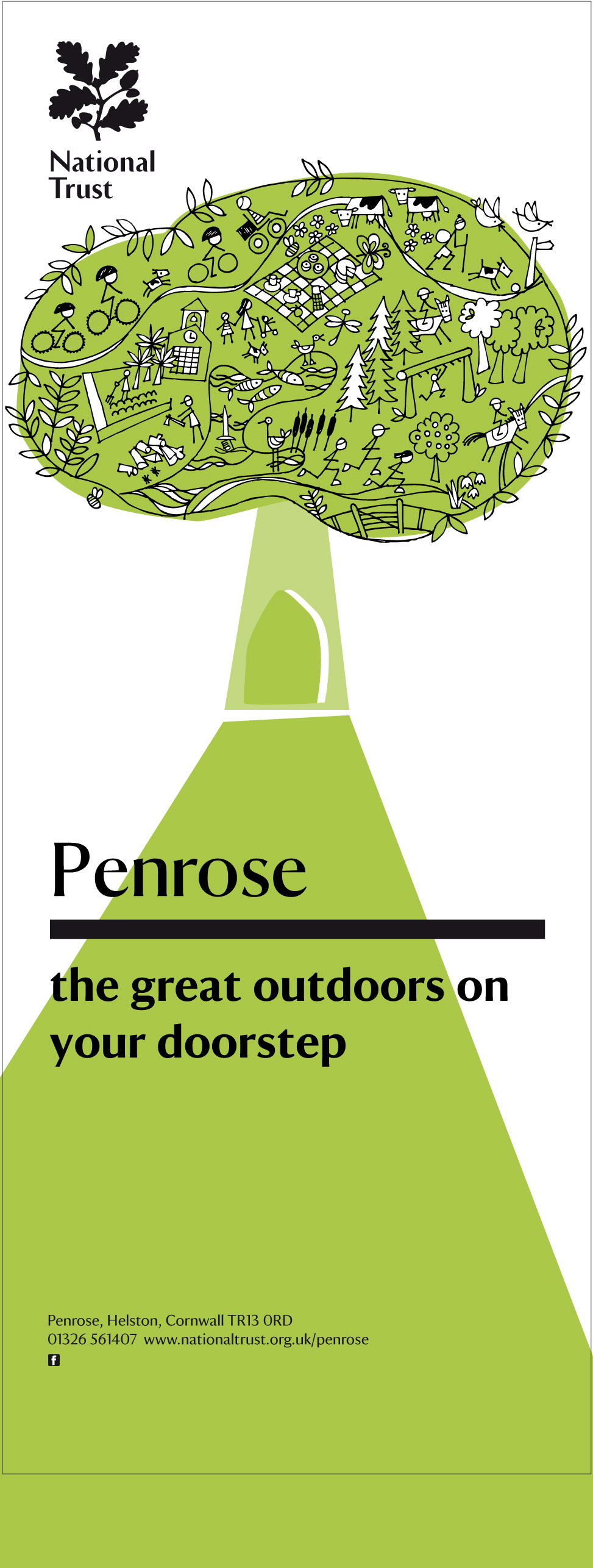 National Trust, Penrose, by Barefoot