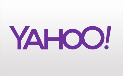 Yahoo's day one logo iteration