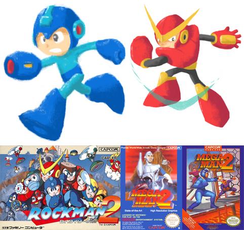 Megaman 2 artwork