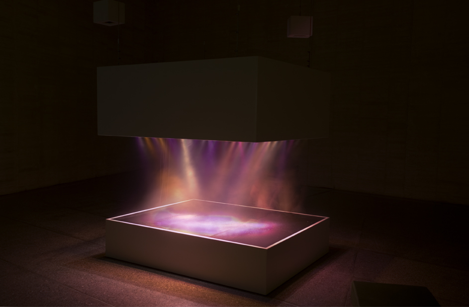 Pierre Huyghe L'expe´dition scintillante, Act 2 (light show), 2002