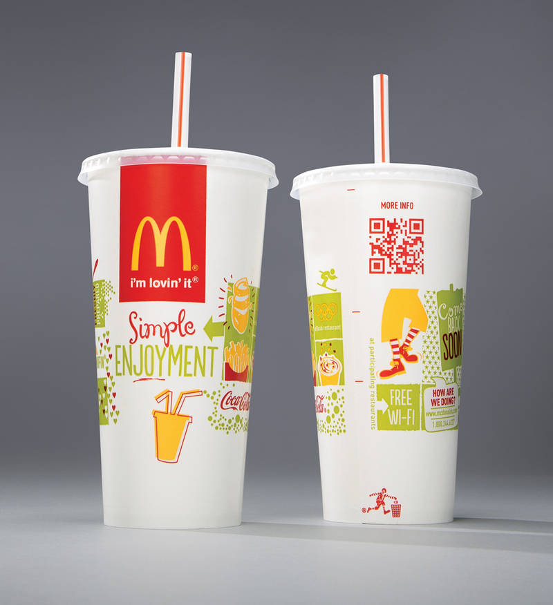 McDonald's packaging by Boxer