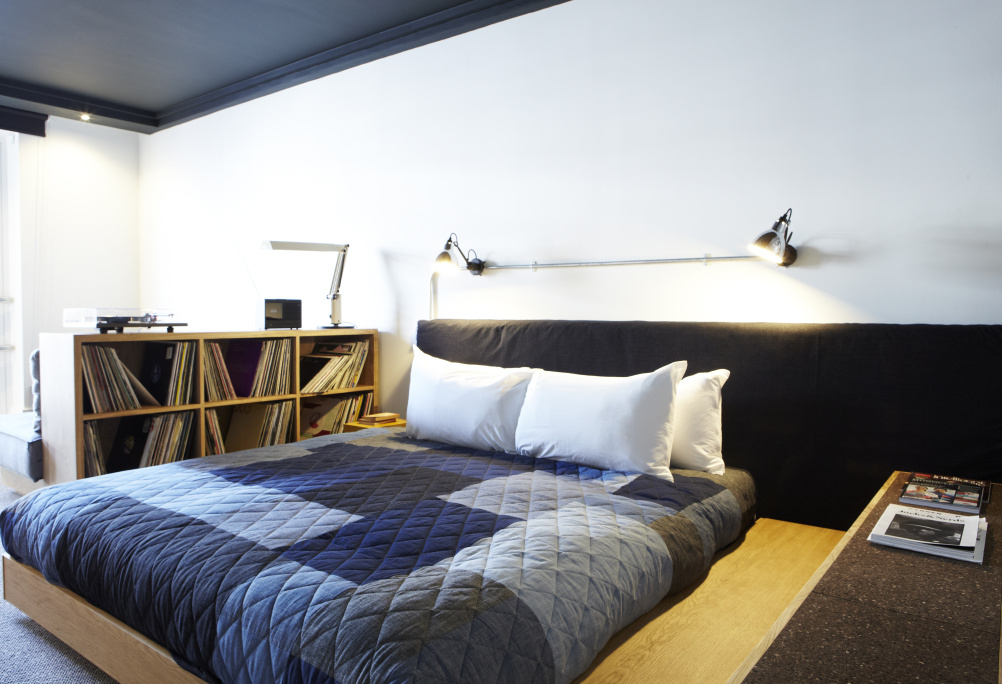 Ace Hotel London bedroom