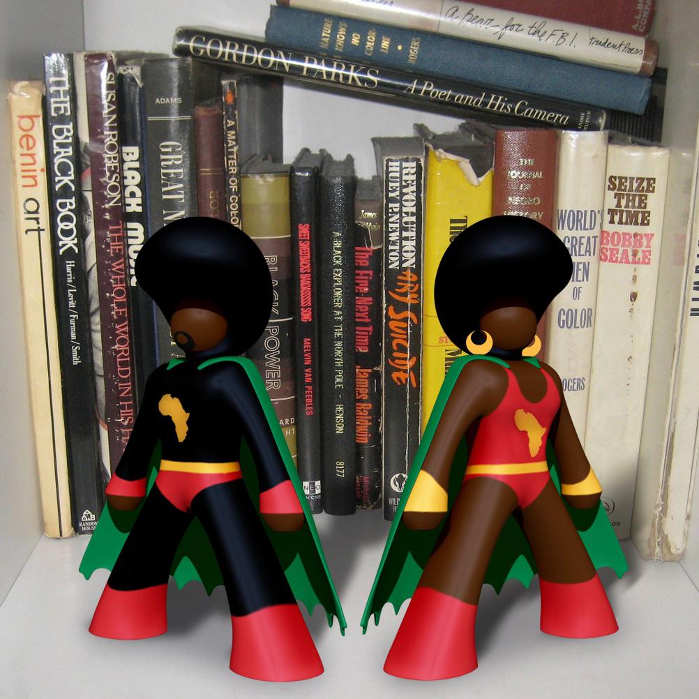 AfroSupaHero toys