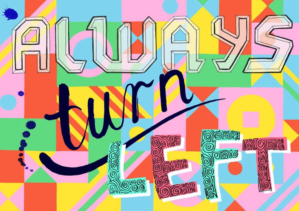 Always Turn Left, Jess Wilson
