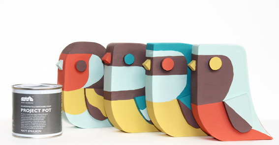Birds by Matt Sewell at Mini Moderns Remix
