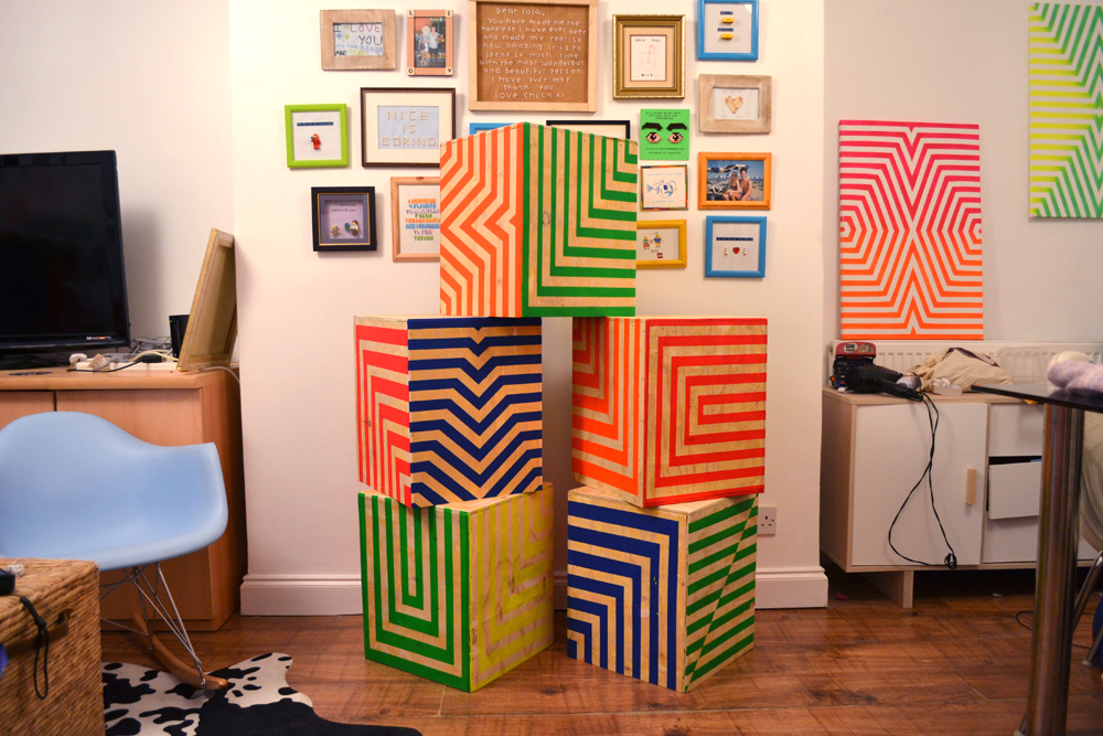 Charlie Patterson's crates