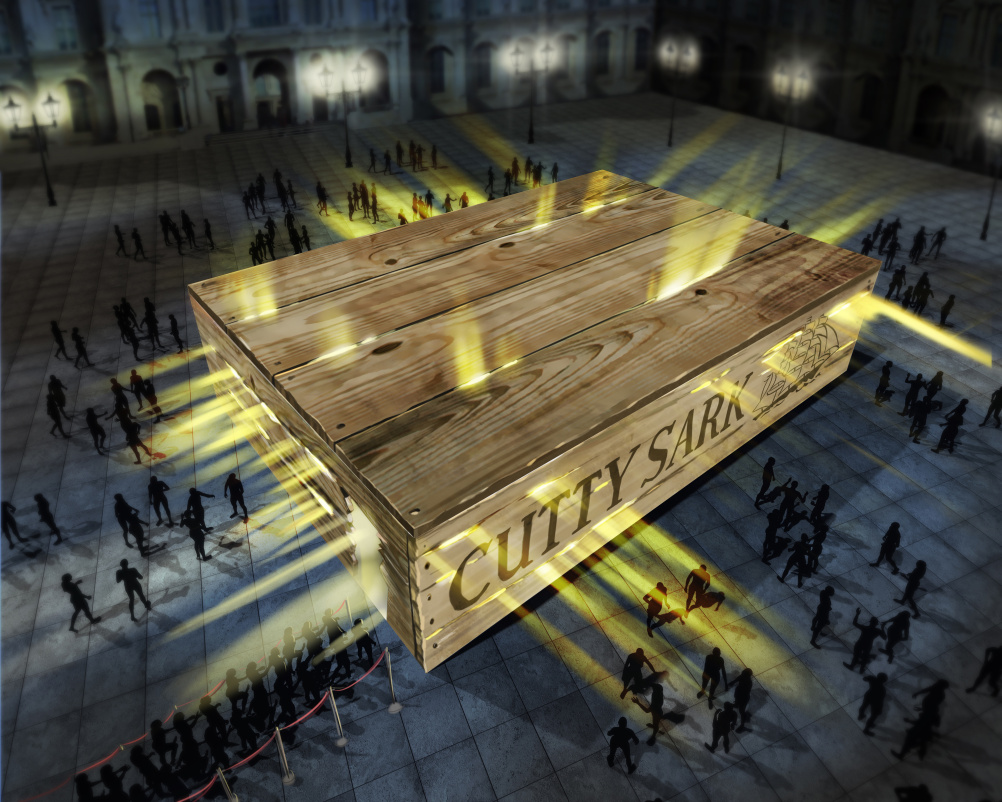 Cutty Crate designed by Inkling and SeTwo