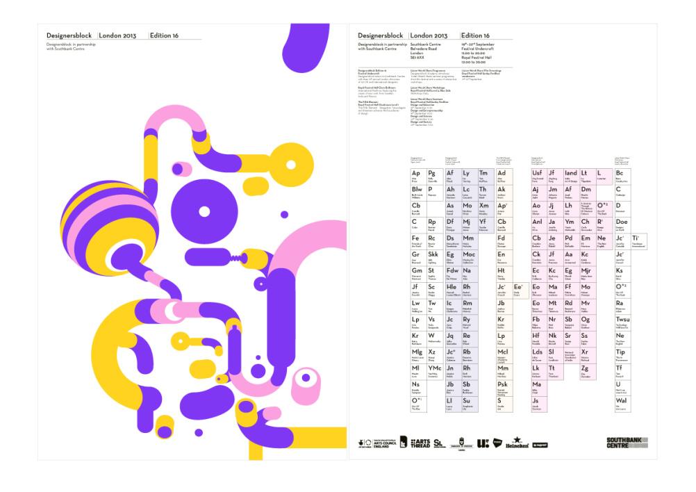 Designersblock poster