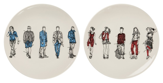 Emma Cowlam,  Boys and Girls plate