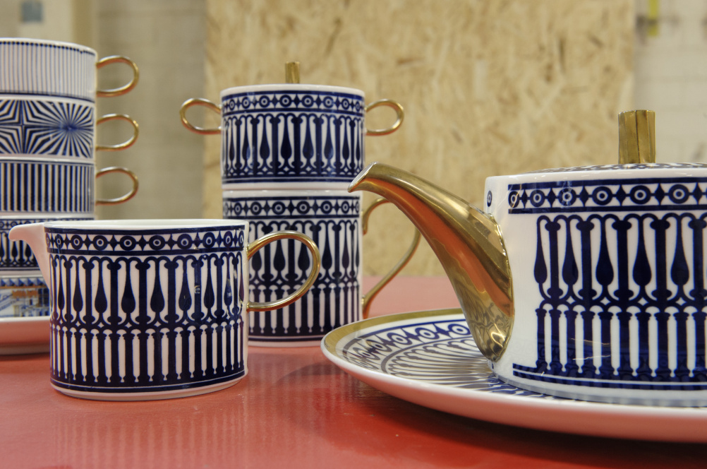 Flux tableware, 2013